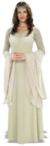 Kostüm Ringe Hochzeit - Herr der Ringe Arwen Damenkostüm Lizenzware grün