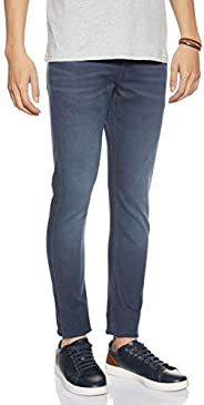 Calvin Klein Jeans Men's 058 Slim Taper Denim Pants Color: Blue Size: L34