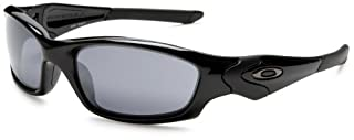 Oakley Men 's Straight Jacket Wrap lunettes de soleil, Jet Jacket black / Black Iridium (0OO9039 GrV 04-325) (B002EL30ZA) | Amazon price tracker / tracking, Amazon price history charts, Amazon price watches, Amazon price drop alerts