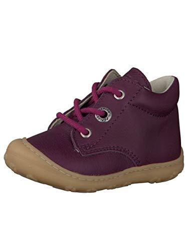 RICOSTA Pepino Mädchen Stiefel Cory, WMS: Mittel, junior Kleinkind-er Kinder-Schuhe Klett-Schuhe toben Spielen Freizeit,Merlot,24 EU / 7 UK
