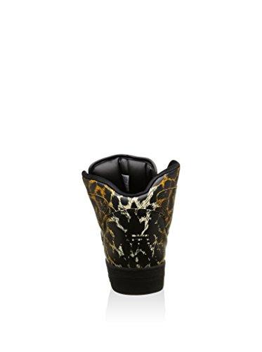 adidas Originals Js Instinct Hi Leopard, Chaussures en Forme de Bottines Homme Noir