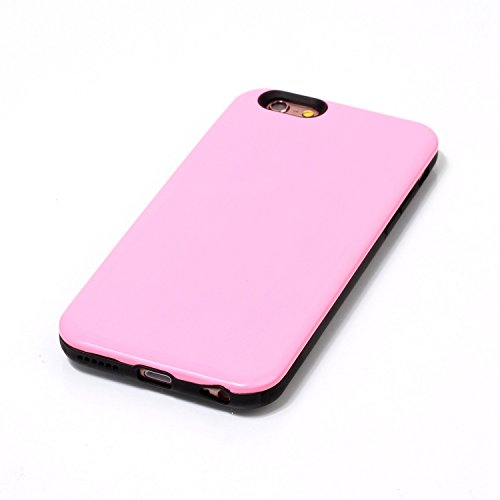 Ekakashop iphone 6 4.7 pollici Custodia, 2-in-1 ultra sottile-Fit molle flessibile di caso Cover posteriore per iphone 6S, Ragazza Ragazzo Crystal Clear Soft Cover gel TPU Silicone Protezione Sottile  B #2