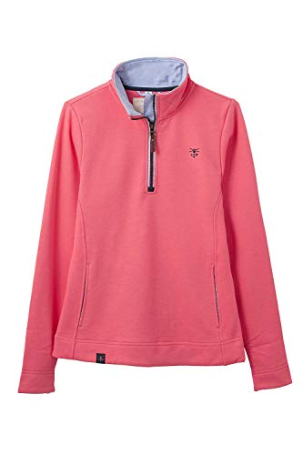 Lighthouse Shore Damen Half Zip Cotton Sweatshirt (EU36) Cotton Half Zip Sweatshirt