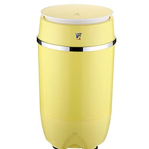 OCYE Lavatrice Portatile compatta a barile Singola con Ciclo di Lavaggio e centrifuga, Tubo di Scarico, Campeggio da 8 libbre, Appartamento, dormitorio, ECC.