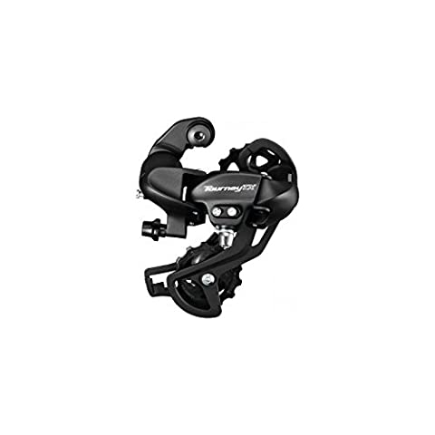 Shimano Tourney RDTX 800 7/8-Speed Rear Derailleur - Black Without Adapter 2091106900 by Shimano
