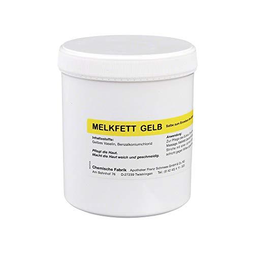 MELKFETT gelb vet. 500 g Salbe