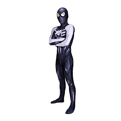 Venom Black Spiderman Cosplay Bodysuit Erwachsene Halloween-Rollenspielleistung,Lady-S (Spider Woman Bodysuit)