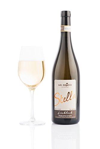 a   Lieblich   Moscato D'Asti (1 * 0,75l) süß   fruchtig   prickelnd   Italien   exklusiv & limitiert   eiskalt genießen! 750 ml ()