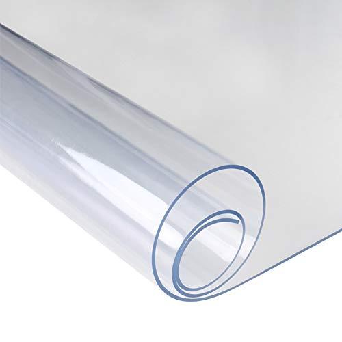 XMZDDZ PVC Transparente Manteles