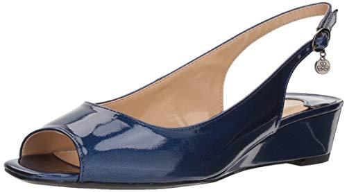 J.Renee Damen Alivia Marineblau Metallic 6.5 M EU J Renee Metallic-heels
