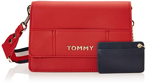Tommy Hilfiger Item Statement Crossover, Borse Donna, Multicolore (Tommy Red Mix), 1x1x1 Centimeters (W x H x L)