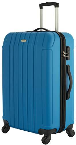 Cahoon Hartschalen-Koffer Trolley Handgepäck 4-Rollen Reisekoffer 301 (S-M-L zur Auswahl)