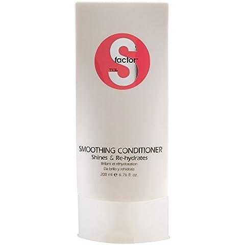TIGI S-Factor Smoothing Conditioner 6.76 oz