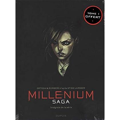Millenium saga, Intégrale : Coffret en 3 volumes : Tome 1, Les âmes froides ; Tome 2, Les nouveaux spartiates ; Tome 3, La fille qui ne lâchait jamais prise