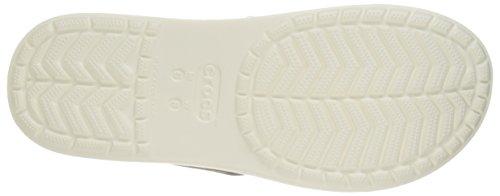 Crocs Citilane, Tongs - Mixte adulte Marron (Walnut/White)