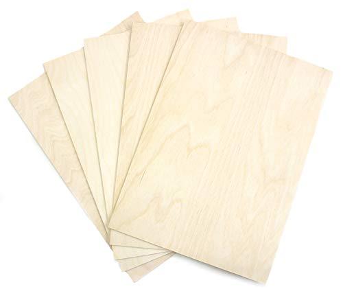 10,792€//m² Stärke 5mm Maße 50x 30 cm 30 Platten Sperrholz Birke B//BB