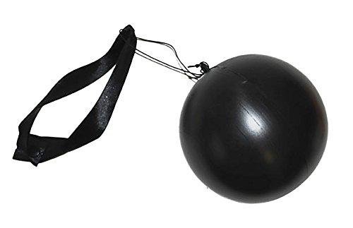 Halloweenia - Sträfling Kostüm Accessoire- Kugel Häftling Prisoner Mottoparty, 12cm, (Kostüm Männer Csi)