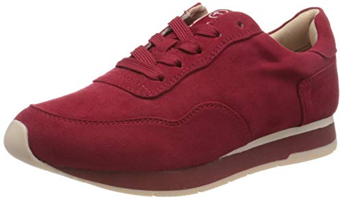 Tamaris Damen 1-1-23615-24 Sneaker, Rot (Lipstick 515), 39 EU