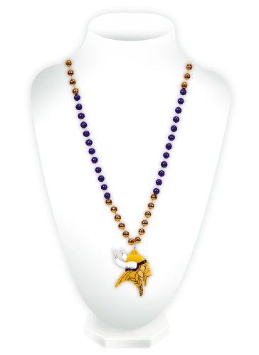 NFL Perlen mit Medaillon, Minnesota Vikings