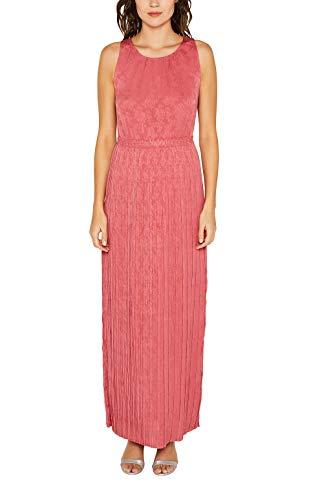 ESPRIT Collection Jacquard-Kleid mit floralen Details Jacquard-kleid