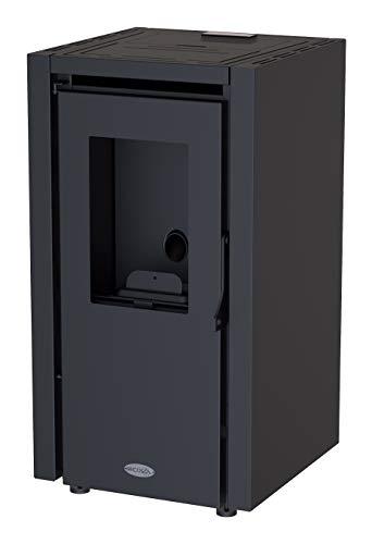 Estufa de Pellets Negro 9KW