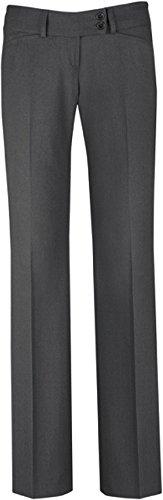 GREIFF Damen-Hose Anzug-Hose PREMIUM regular fit - Style 1352 - grau - Größe: 40