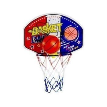 Mini Panier De Basket Du0027intérieur 28X21cm + Balle à Fixer Au Mur