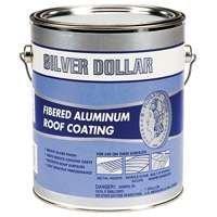 Gardner Fibered Roof Coating (Silver Doller 6211-ga Fibered Aluminum Roof Coating, 1 Gallon by Silver Dollar)