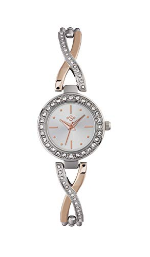 Spirit Womens Analogue Classic Quartz Watch with Stainless Steel Strap ASPL107 Best Price and Cheapest