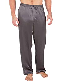 22b6e2e2156 Comradesn Mens Silk Satin Pajamas Pyjamas Pants Lounge Pants Sleep Bottoms  Free P P S~4XL