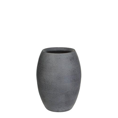 Mica decorations 240676 Vase, Vera, grau