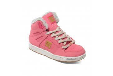 Dc Baby Baby-mädchen Shoes (Kinder Sneaker DC Rebound Wnt Sneakers Girls)