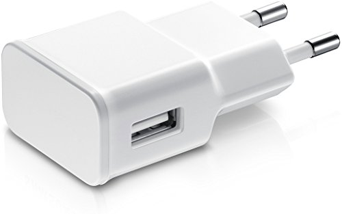 Universal 1 Amp to 2 Amp Travel Wall Charger Adapter for Samsung Galaxy J7 and any other phone, tablet, iPod, iPad, etc that charges with USB cable. Only Adapter included  available at amazon for Rs.165
