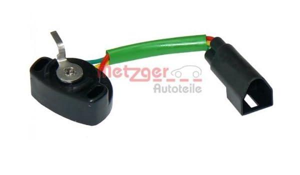 Metzger 0904013 Regolazione Valvola Farfalla Genuine Sensore