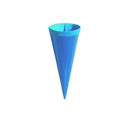 24 Kleine Schultüten Deko bunt Höhe 12 cm oberer Durchmesser 4 cm - 5