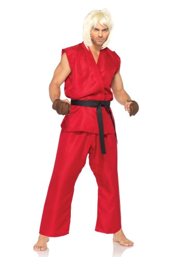 Leg Avenue Ken Street Fighter Mens Costume S/M