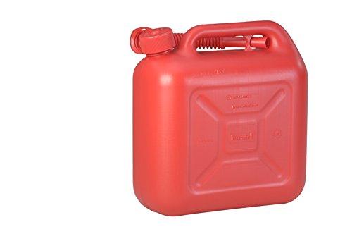 Preisvergleich Produktbild hünersdorff Kraftstoff-Kanister Standard 10l für Benzin, Diesel und Andere Gefahrgüter, UN-Zulassung, Made in Germany, Tüv-geprüfter Produktion, Blau