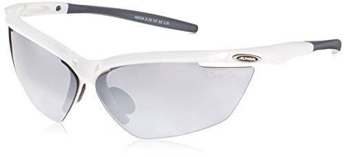 ALPINA Sonnenbrille TRI-GUARD 50 Outdoorsport-brille, White/Grey Matt, One Size