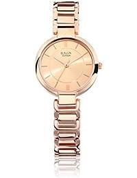 Titan Raga Viva Analog Rose Gold Dial Women's Watch - 2608WM01