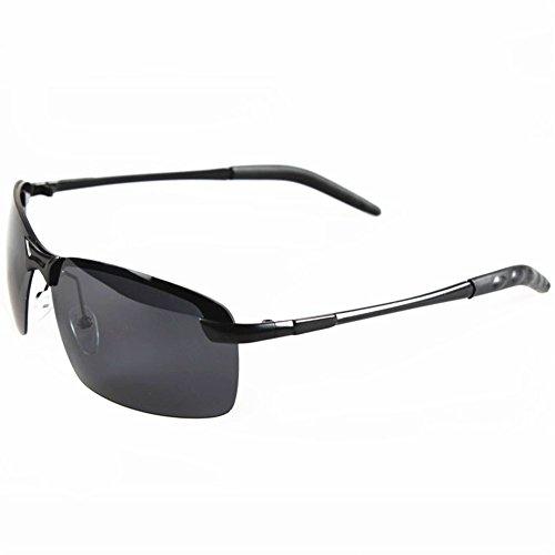 o-c-da-uomo-guida-oversize-occhiali-da-sole-polarizzati-66-mm-nero-black-framegrey-lens