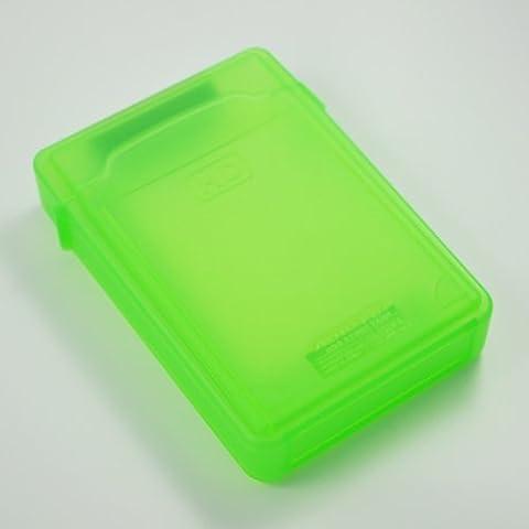 SODIAL(R) Caja de Almacenamiento IDE/SATA HDD Disco Duro 3.5-Pulgadas (Verde)