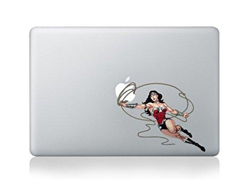 MacBook Wonder Woman apple Vinyl Aufkleber Aufkleber für MacBook Pro/Air 33cm