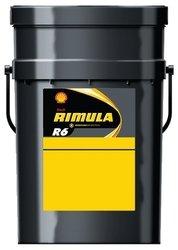 Shell Rimula R6550035977SM 10W 40Diesel Completamente Sintetico Olio