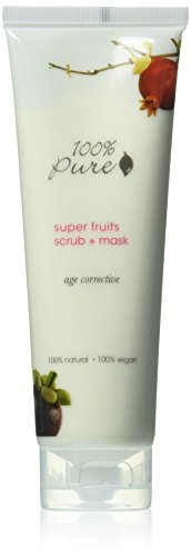 100% Pure - Masque Exfoliant pour le Visage - Super Fruits - 118ml