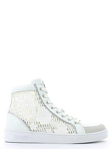 hautes espadrilles GUESS des femmes FLGRC1-ELE12 Blanc Bianco