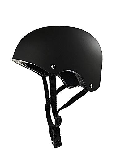 WZFC BMX Helm,Skaterhelm, Fahrradhelm, Kinder, 49-62 cm (3~12 Jahre Alt),M(53~57Cm)