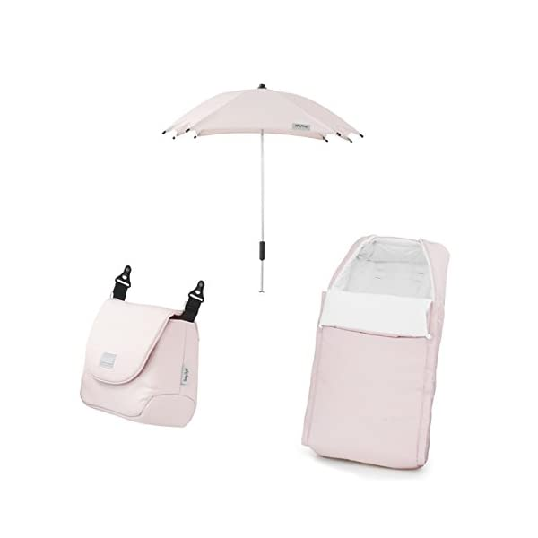 BabyStyle Prestige 2 Fabric Pack - Ballerina Babystyle Multi position, Lie-Flat Seat Unit Ventilated Pram Body Compatible with any BabyStyle Prestige 2 Chassis (Sold separately) 4