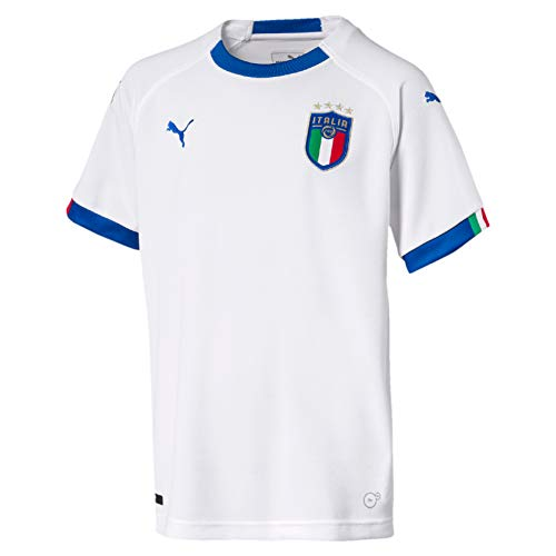 PUMA FIGC Italia Kids Away Replica SS Camiseta