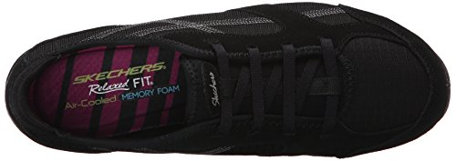 Skechers Damen Dreamchaser Ante Up Sneakers Schwarz (Blk)