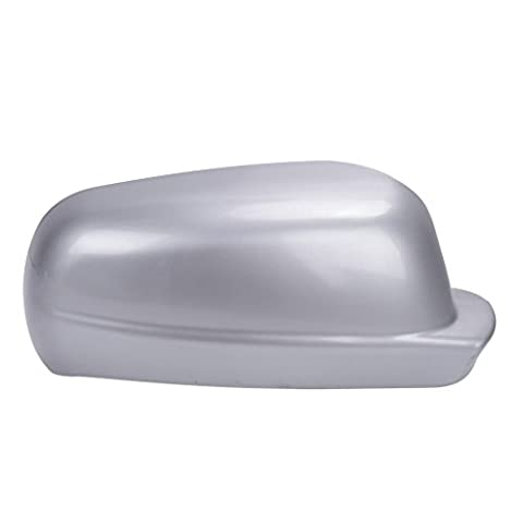 WANOOS Silver Side Wing Mirror Cover Case Housing For VW Golf MK4 Jetta Passat 1998-2004